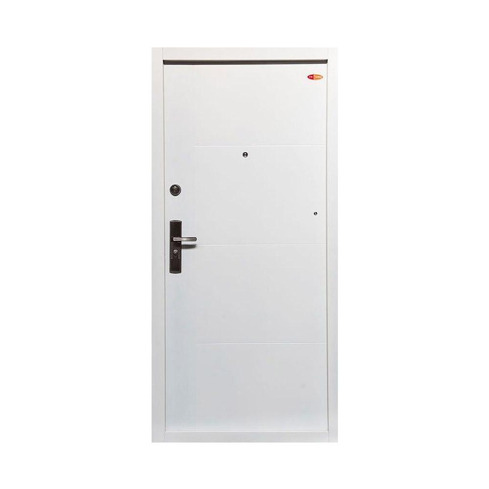 Fehér 701 - Hi-Sec fém biztonsági ajtó