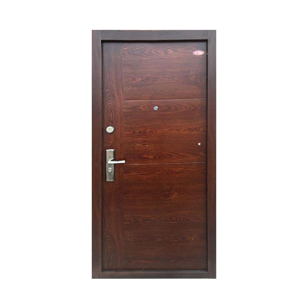 Festett Mogyoró 701 - Hi-Sec fém biztonsági ajtó